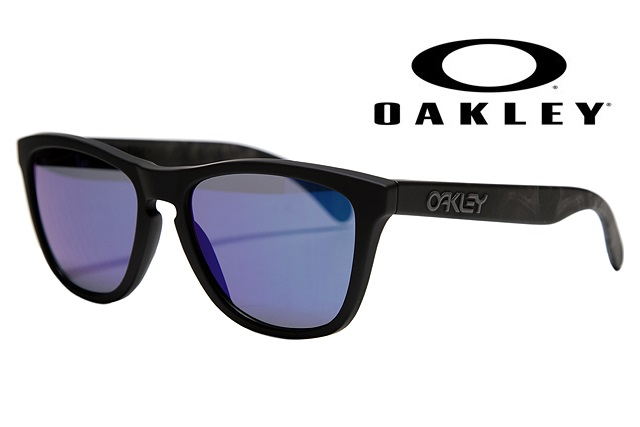OAKLEY【SOFT TOUCH COLLECTION】  FROGSKINS SKULLS/BLUE IRIDIUM 【009013-5517-24-398】限定モデル