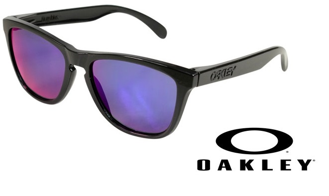 OAKLEY 【AQUATIQUE COLLECTION】 FROGSKINS  Abyss/Red Iridium 【009013-5517-24-358】