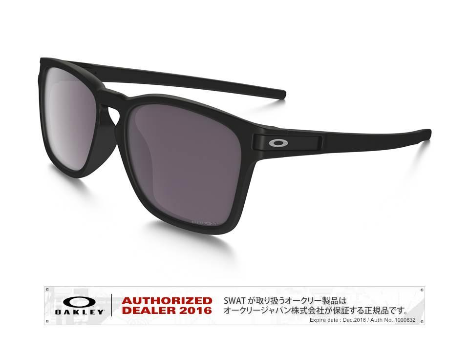 OAKLEY 【Latch™ SQ PRIZM™ Daily Polarized 】 Asia Fit matte black/prizm daily polarized 【009358-5517-935806】