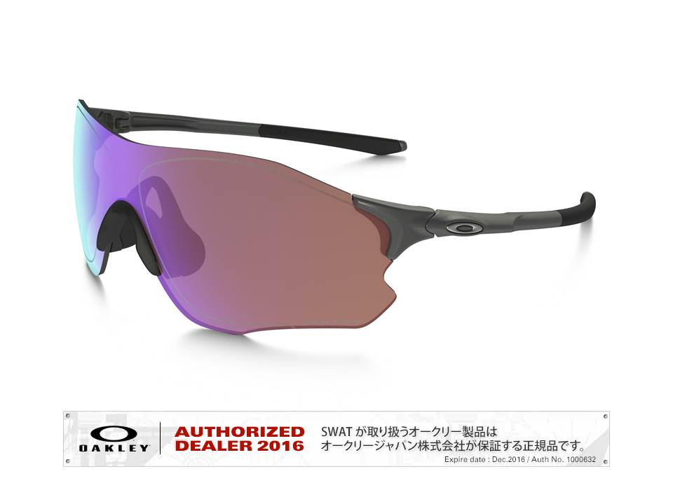 OAKLEY 【EVZero Path PRIZM™ Golf】 Asia Fit matte steel/PRIZM Golf 【009313-0138-931305】