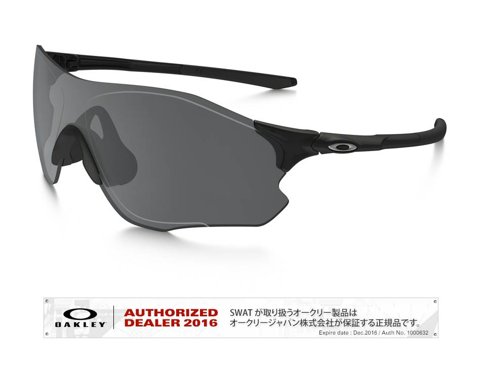 OAKLEY 【EVZero Path 】 Asia Fit polished black/black iridium 【009313-0138-931301】