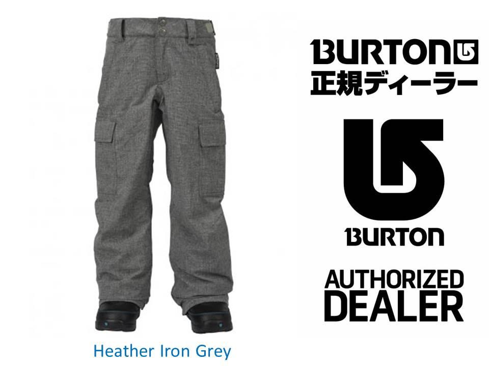 16/17 BURTON Boys' Exile Cargo Pant 【11589101】