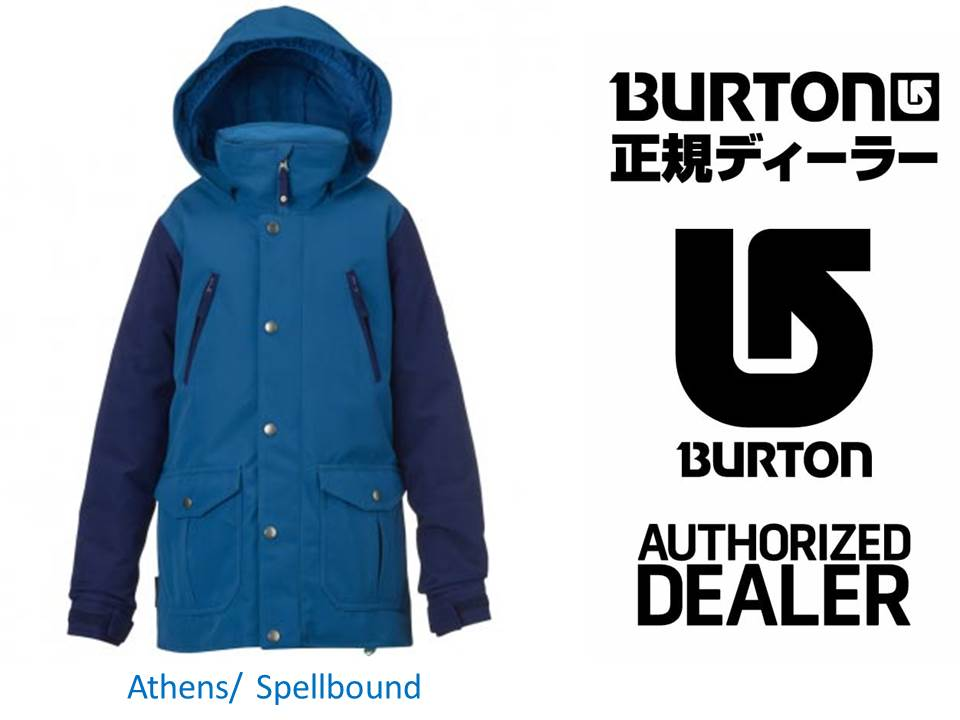 16/17 BURTON Girls' Ava Trench Jacket 【15034101】