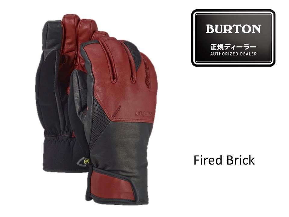 17/18 BURTON Gondy GORE-TEX® Leather Glove 【103261】
