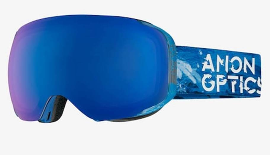 17/18 ANON M2 Hiker Blue/SONAR Blue by Zeiss, Spare: SONAR Silver by Zeiss, +FM Asian Fit