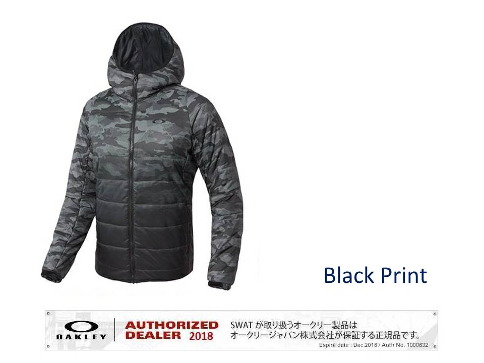 OAKLEY 2018 上下セット 上:Enhance Insulation Quilting Jacket 8.7 下:Enhance Insulation Pants 8.7 【412586+422502】