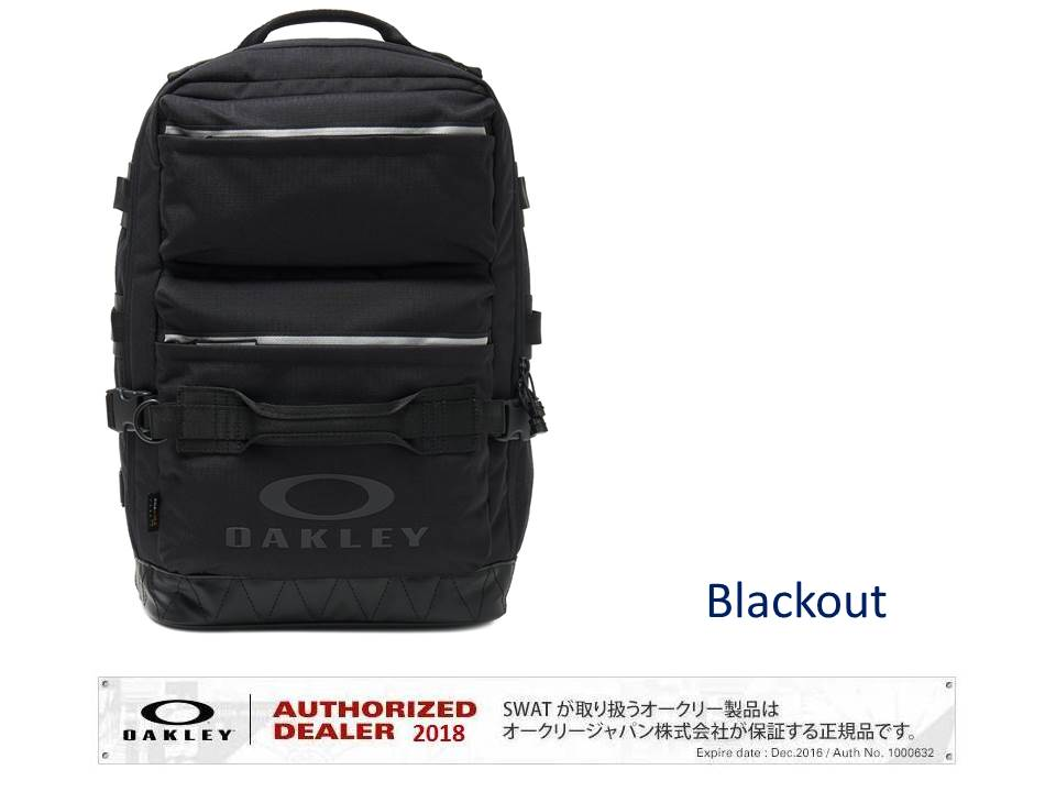 OAKLEY SPRING 2019 UTILITY SQUARE BACKPACK 【921514】