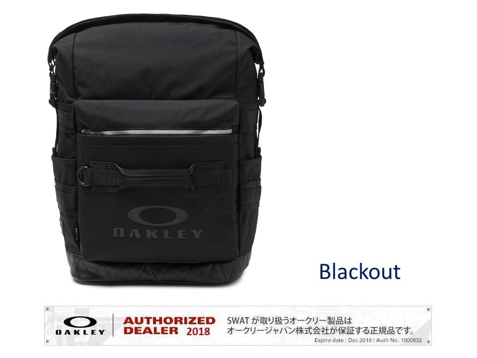 OAKLEY SPRING 2019 UTILITY FOLDED BACKPACK 【921516】