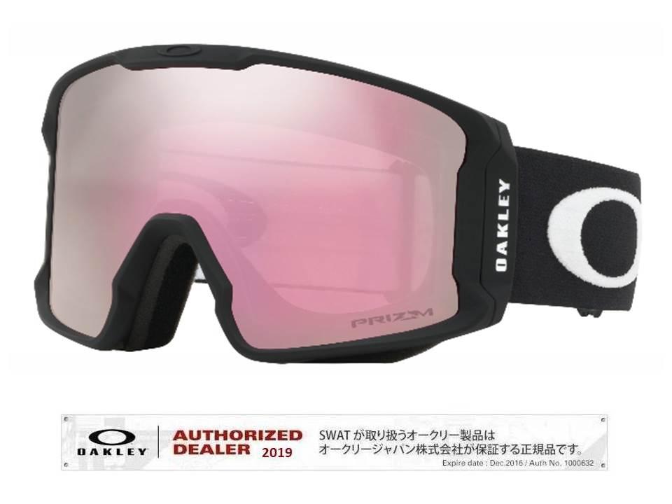 19/20 OAKLEY LINEMINER Matte Black/Prizm HI Pink Iridium アジアンフィット 【70700601】