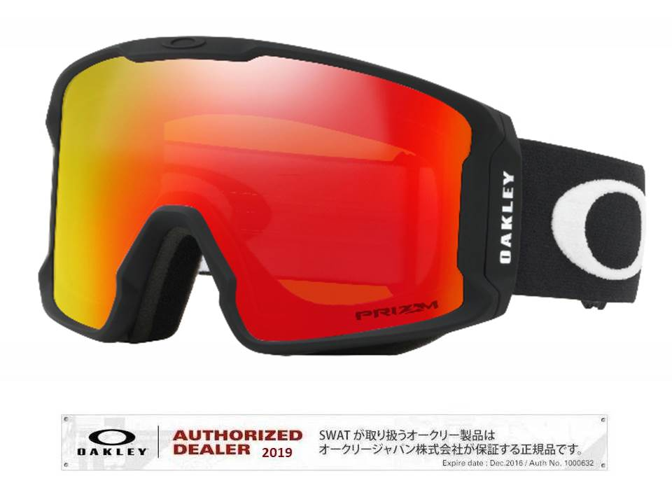 19/20 OAKLEY LINEMINER Matte Black/Prizm Torch Iridium アジアンフィット【70700201】