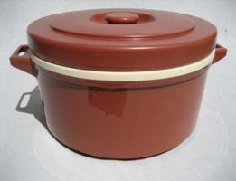 プラスチック保温食缶ごはん用 DF-R2 小 1.2升用 DHO-01