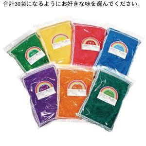 (かっぱ橋 ふじたクッキング 販売)【ケース販売】ざらめ30個(1kg×30袋)セット(お好きな味を選んでください)綿菓子カラーザラメ わたがしレインボーシュガー納期は約10日です。綿菓子 綿あめ わたあめ ワタガシ ざらめ わたかし 粗目
