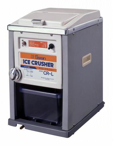 <title>電動式 大幅にプライスダウン ジュースや料理の盛り付けなどに使用する つぶつぶ氷 クラッシュ氷 ができます スワン電動式アイスクラッシャー CR-L 日本製</title>