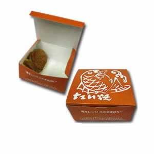 【テイクアウト用品】たい焼きボックス(紙製)(400枚入)