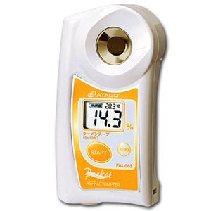 【塩分濃度計】デジタルポケットラーメンスープ濃度計PAL-96S〈BNU-22〉