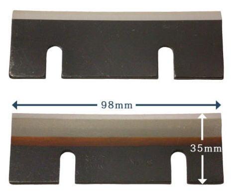 電動かき氷機 初雪 用替刃 HF-800 10枚セット HF-300シリーズ/HF-700シリーズ/HF-800シリーズ/HA-110S/HB-310B(ベイシス)/HB-320A等専用初雪 替え刃 刃物 替刃 HB-200A 用 刃物中部コーポレーション 刃物 かき氷 かき氷機 スライサー替え刃 ハガネ