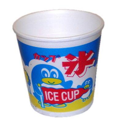 【かき氷カップ】発砲スチロール製カップフラッペカップ A-350 1箱(1,000個入)