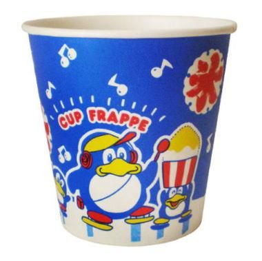 【かき氷カップ】紙コップスワンペンギン 青 1ケース(1,500個入)