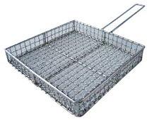 【フタ無し】地鶏焼きアミフライパン18-8ステンレス(300角深)職人の完全手作り製品, Stimulite Honeycomb:3f4ec582 --- rigg.is