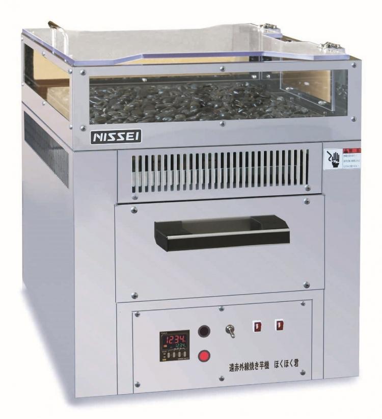 遠赤外線電気焼きいも機「ほくほく君」NEY-6S 1段式受注生産品のため代引き不可