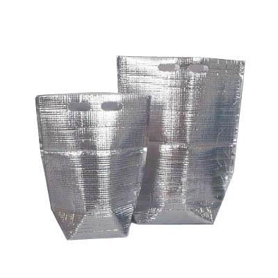 【エコ・節電対策】保冷・保温袋アルバック自立式袋 LL (50枚入)「AAL-29」