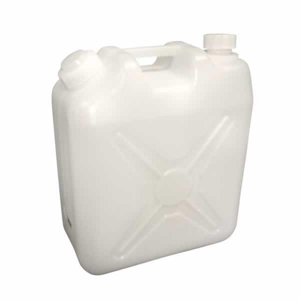 飲料水やアウトドアに最適です 低廉 給水タンク 飲料水用ポリタンク ノズル付 20L チープ