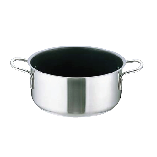 Murano インダクションテフロンセレクト18-8 外輪鍋(蓋無)40cm〈AST-I0〉