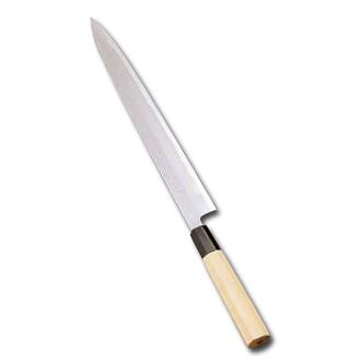 堺實光 紋鍛(青鋼)刺身(片刃)39cm〈AZT-15〉
