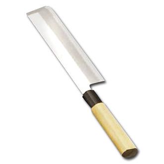 堺實光 上作(白鋼) 薄刃(片刃) 24cm AZT-31