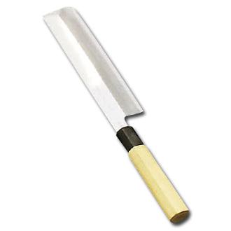 堺實光 匠練銀三(銀三鋼)薄刃(片刃)22.5cm〈AZT-41〉