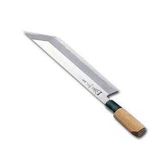 正本 本霞・玉白鋼鰻サキ(片刃)25.5cm〈AMS-42〉