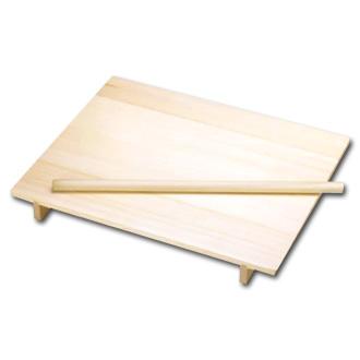 木製 のし板 めん棒付(桐材)大〈ANS-07〉
