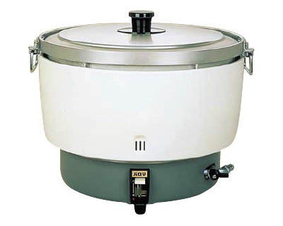 【ガス式】パロマ炊飯器5升用(20合~55合)折れ取手 PR-101DSS