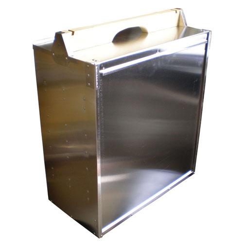アルミ製出前箱 横型5段