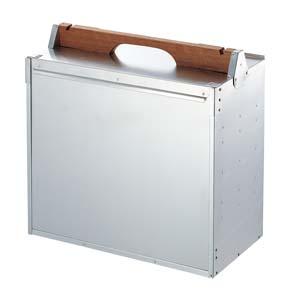 アルミ製出前箱 横型4段