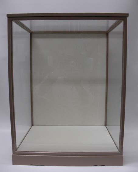 人形用ガラスケース(前扉式)『45-18』(内寸:幅45cm×奥行37cm×高さ55cm)