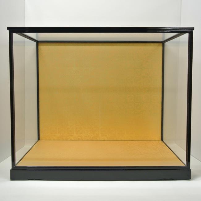 人形用ガラスケース(前扉式)『横長タイプ 75-60』(内寸:幅75cm×奥行45cm×高さ60cm)