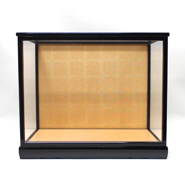 人形用ガラスケース(前扉式)『横長-大』(内寸:幅45cm×奥行25cm×高さ35cm)