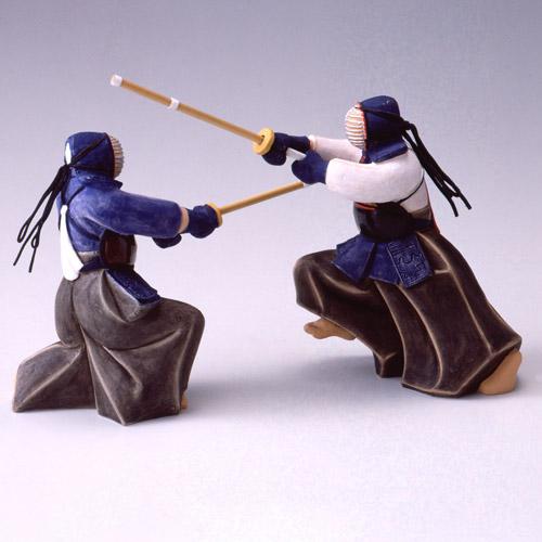 【博多人形】【能物】『剣道(小) 浩作』
