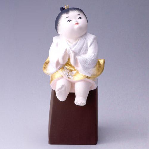 【博多人形】【童物】『夢 祐二作』