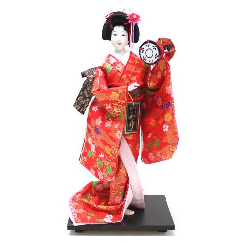 日本人形 尾山人形 金襴『鼓 6号』