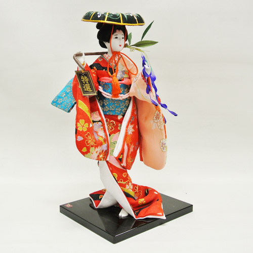 #01 H Japanese Traditional Doll Geisha Doll Antique Japanese Dolls