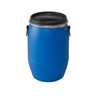 樹脂ドラム 60L オープンタイプ (色:ブルー)
