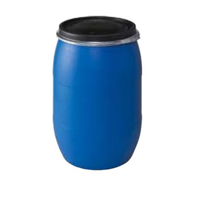 樹脂ドラム 120L オープンタイプ (色:ブルー)