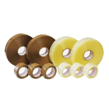 OPP粘着テープ #48 色:茶(250巻)・ビニールテープ