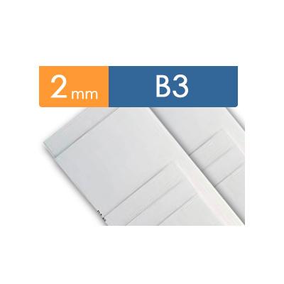 紙貼りパネル【2mm厚】 - B3判 (40枚1組)