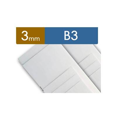 紙貼りパネル【3mm厚】 - B3判 (40枚1組)