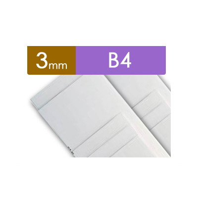 紙貼りパネル【3mm厚】 - B4判 (60枚1組)