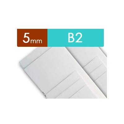 紙貼りパネル【5mm厚】 - B2判 (20枚1組)