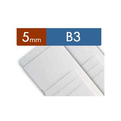 紙貼りパネル【5mm厚】 - B3判 (40枚1組)